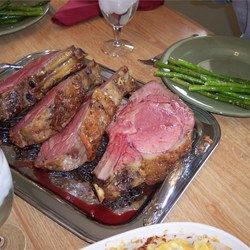 Garlic Prime Rib - (this is our go to Christmas Eve recipe--we cook it for more like 4hrs)