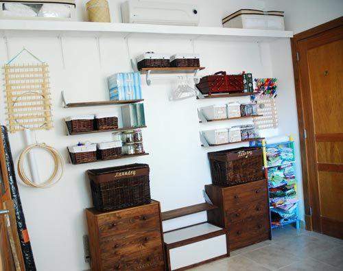 Las 25 mejores ideas sobre armario improvisado en - Armarios abiertos baratos ...