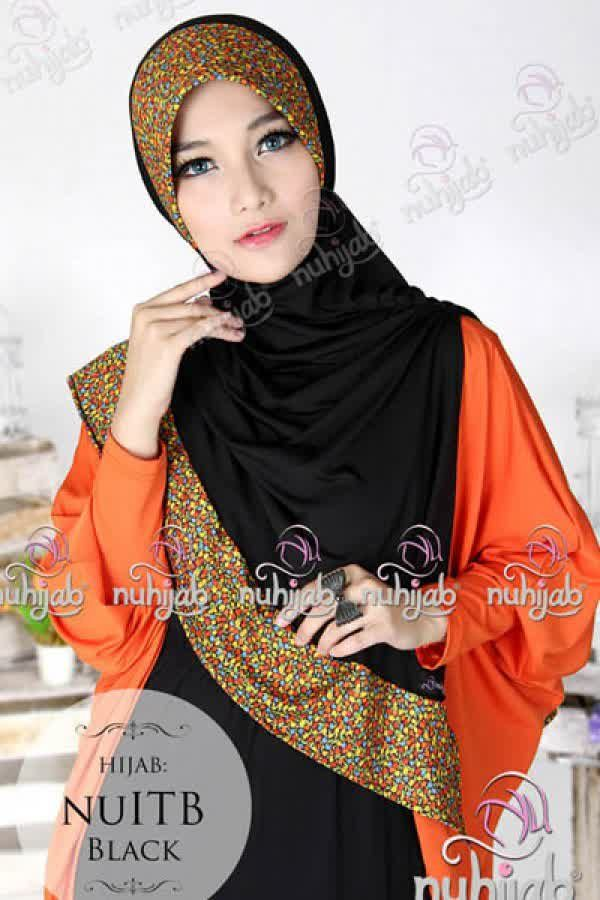 Nuhijab Nu Itb - Black Rp. 95.000 Bahan: High Quality Spandex Jersey Polca Order sms/wa 082328384495
