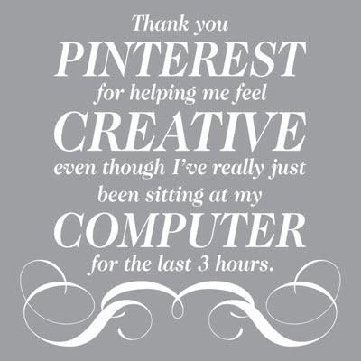 Love you pinterest!!!