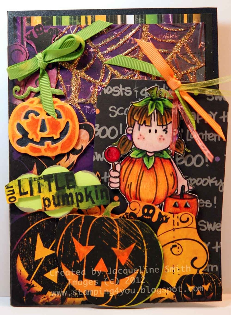Kid Halloween card