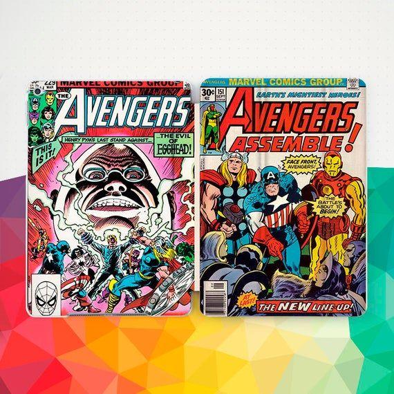 Rétro Marvel Comic Ipad Case