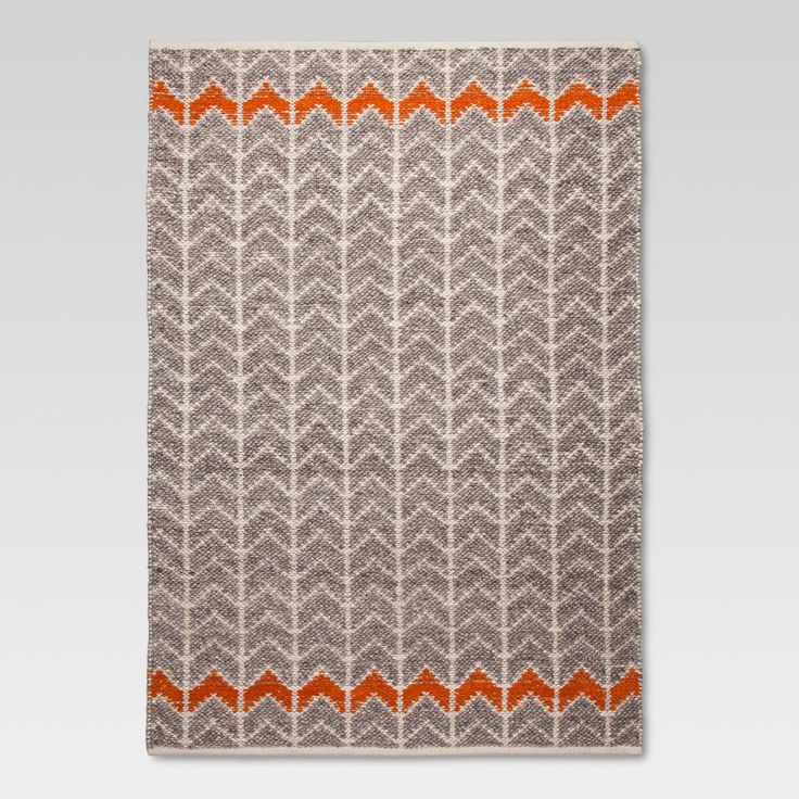 Bring some eye-catching flair to your living space with the striking Mudhut Flatweave Chevron Area Rug. The Area Rug has a pleasing texture and is strong enough to withstand everyday wear and tear. With its swanky Chevron pattern, the Area Rug gives the decor in your home an appealing splash of style. This is a GoodWeave-certified rug. GoodWeave-certified rugs are woven by adult artisans and help support the education of thousands of at-risk children in India who may otherwise need to work.