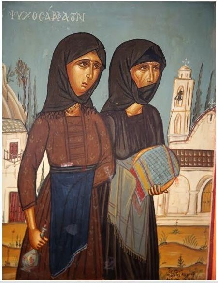 Από πολύ νωρίς το απόγευμα της Παρασκευής και πριν ακόμα ο παπάς σημάνει Εσπερινό, κατηφόρισαν οι γυναίκες, προς την εκκλησία του χωριού, κρατώντας από ένα πιάτο «σιτάρι» στο χέρι.