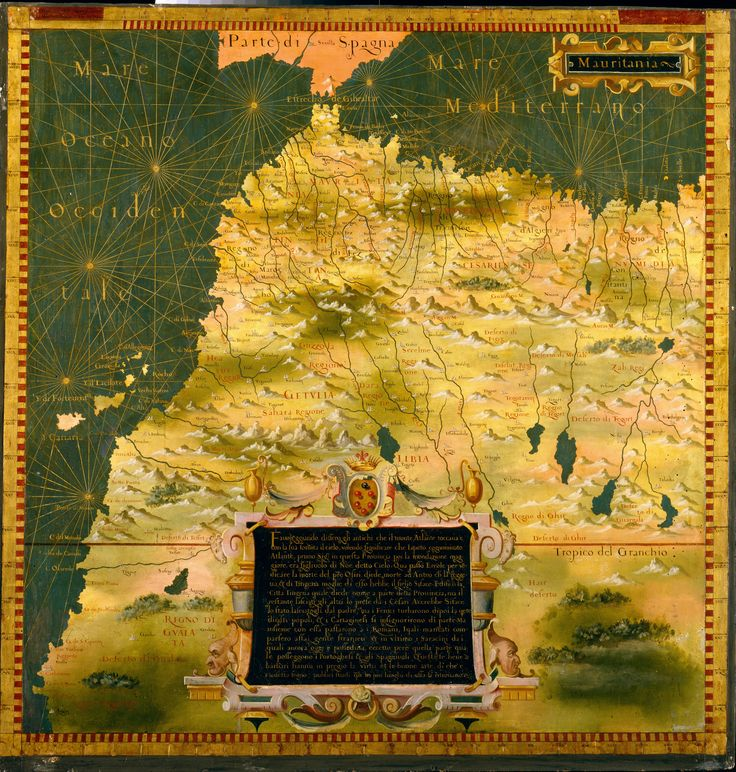 stefanobonsignori mauritaniamalimoroccoandalgeria googleartproject14716jpg 69247267 The 85 best maps