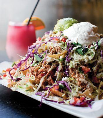 Yucatan Taco Stand! Love these nachos!