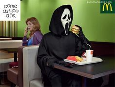 Come as you are | McDonalds #awesomeads ---> Repinned by www.gers.nl