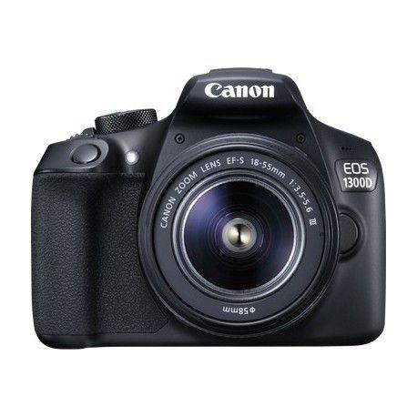 Cerchi Canon  EOS 1300D + EF-S 18-55 DC III Kit fotocamere SLR 18MP CMOS 5184 x 3456Pixel Nero 1160C031 in offerta? Acquistalo scontato su Wireshop al miglior prezzo. Risparmio e convenienza garantiti.