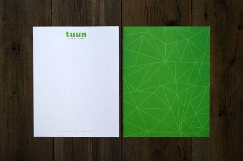 Tuun Consulting - Letterhead Design www.kristingibson.ca