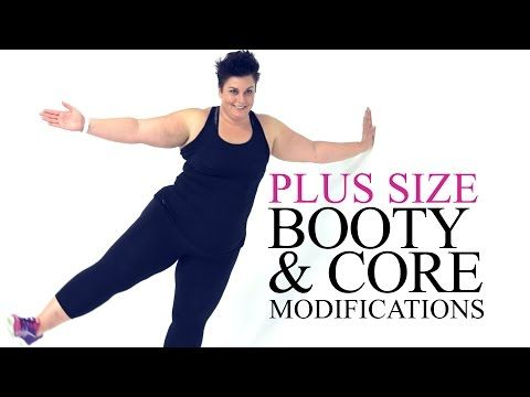Introduction to Plus Size Exercise Modifications workouts Episode 1 - YouTube