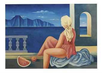 Mario Carreño (Cuban 1913-1999) Untitled