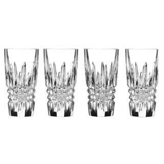 LISMORE DIAMOND SHOT GLASSES, SET OF 4