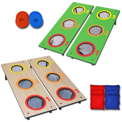 Gosports 3 Hole Cornhole Washer Toss Tailgate Game, 2015 Amazon Top Rated Bean Bag Game Sets #Sports
