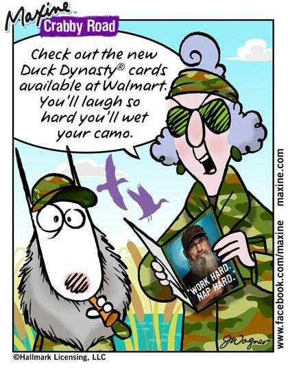 Maxine comic strip on immigration