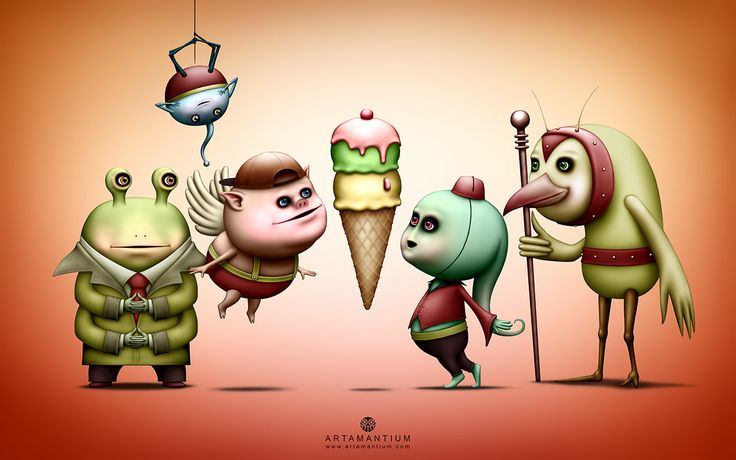 Galactic Ice Cream - Artamantium. After many travels, the Galaxy Explorers (who love to wear red and yellow) succeed in locating the whereabouts of the elusive Galactic Ice Cream! What secrets will the Galactic Ice Cream reveal to the brave space adventurers?