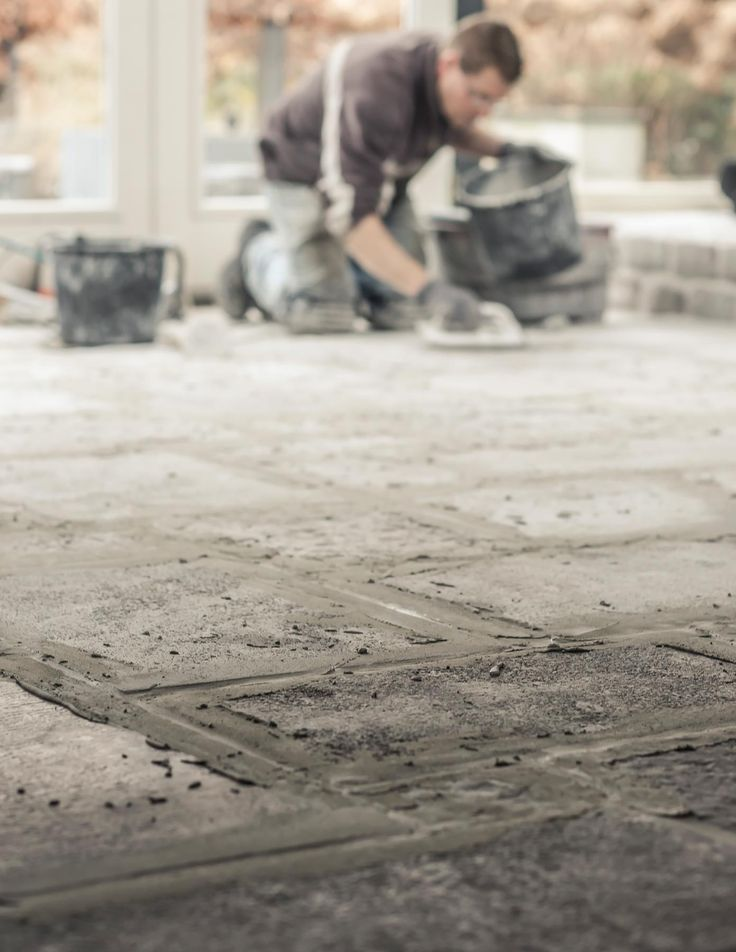raw stones vloer leggen   www.twoonhuis.nl