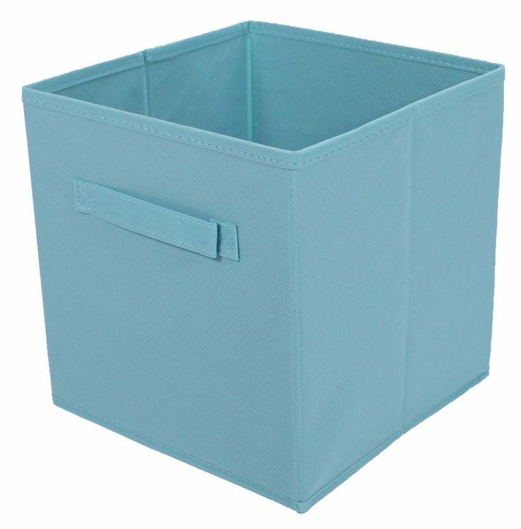 Tidy Living - 2PK Foldable Fabric Drawer (Lagoon Blue) #TidyLiving
