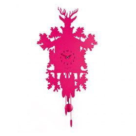 Часы настенные Diamantini & Domeniconi Cucu Low Cost розовые