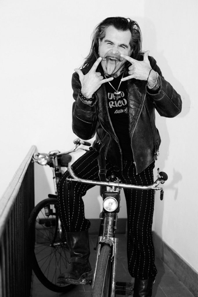 alessandro bianchi photographer #celebrity portrait  Piero Pelù diabolicamente ironico.  #pieropelu #litfiba  #singer