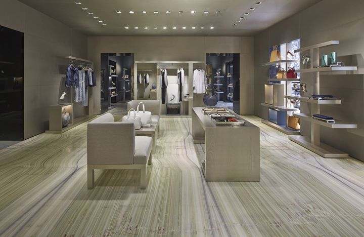 Giorgio Armani store, Paris » Retail Design Blog