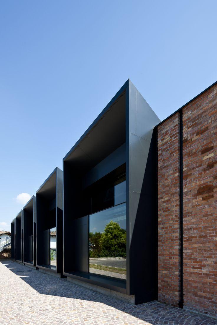 Galer a de la casa della musica geza gri e zucchi for Log casa architetti