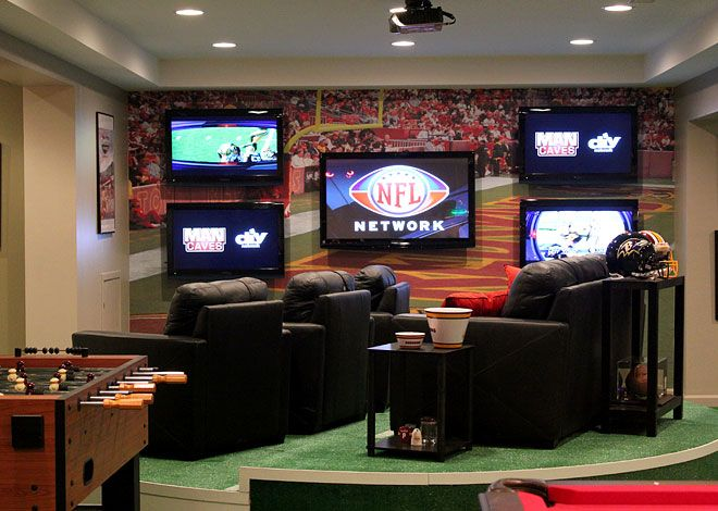 Man Cave Home Parties : Best images about man caves on pinterest football