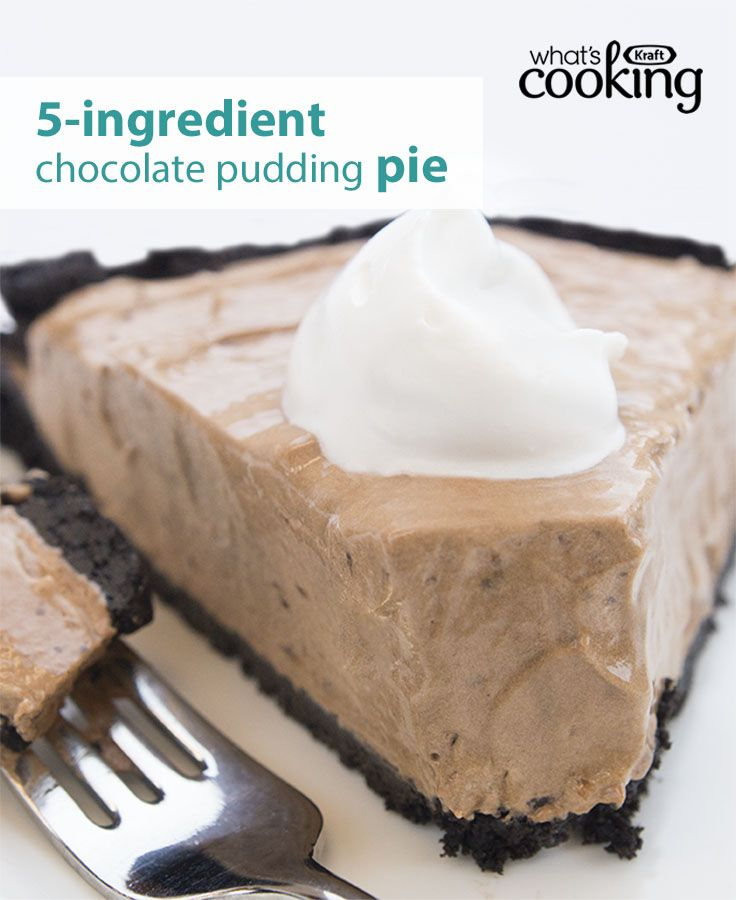 Creamy, dreamy and incredibly delicious, this fan-favourite chocolate pie always gets rave reviews. And with just 5 ingredients, it doesn't get any easier to whip up this awesome classic dessert. Click or tap the photo for this COOL WHIP Chocolate Pudding Pie #recipe.