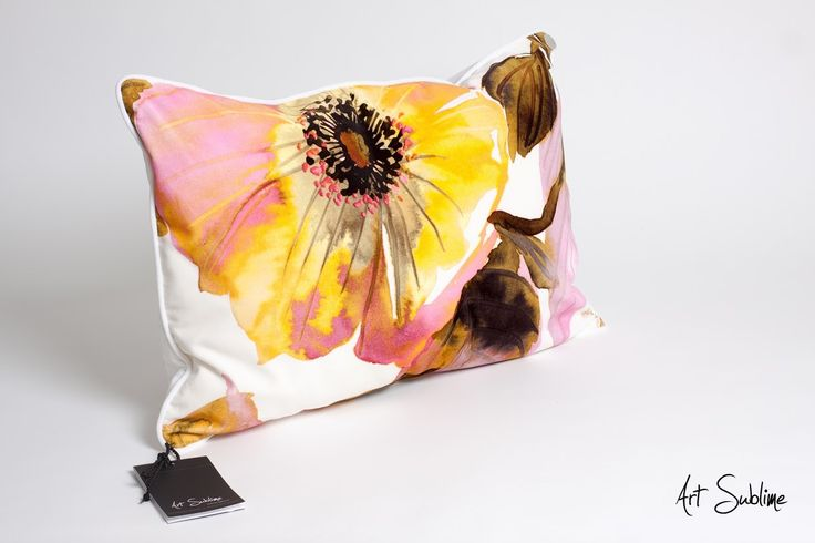 €149,00  EXTRAVAGANCE NATURAL BLOSSOM WHITE size:65cmx45cm www.art-sublime.com  Art Sublime cushion, pillow www.facebook.com/ArtAndSublime?fref=ts -  #decorative pillow #cushion #decor #design #homedecor #decorative #Decorative pillow #interior design #poduszki ozdobne #art sublime #Decorate Your Home #armchair #chair #poduszki aksamitne #luksusowe poduszki