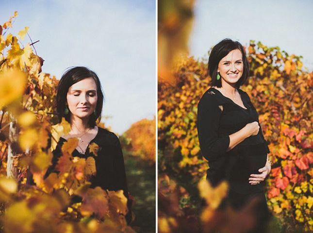 Get all the inspo to show off that beautiful baby bump underneath golden leaves and grassy fields!