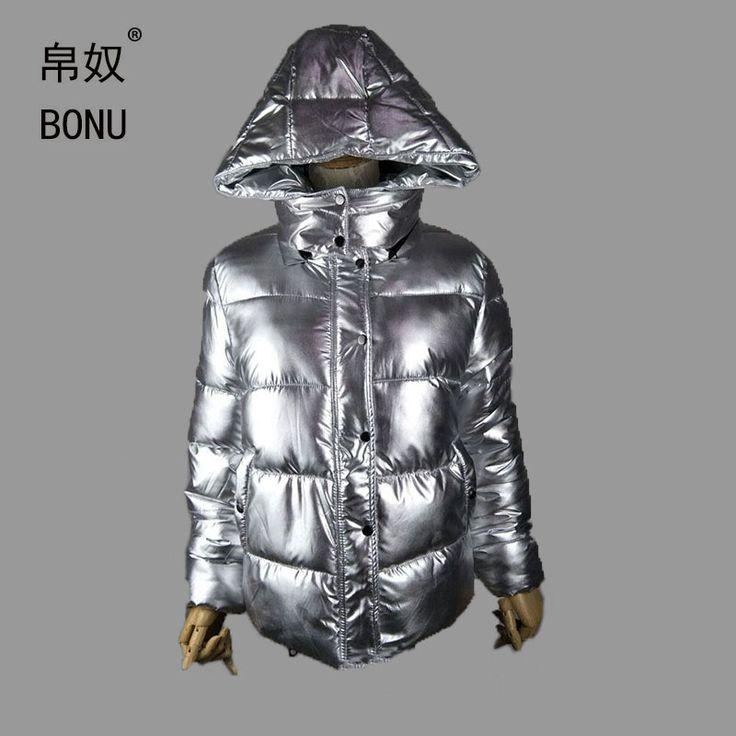 >> Click to Buy << BONU Thicken Hooded Winter Jacket Women Parka Coats Casual silver Parka Warm Plus Size Jaqueta Feminina Warm Large Size Coats #Affiliate