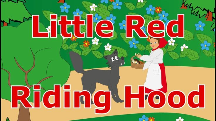 🤶🐺Little Red Riding Hood - Animated fairy tale for toddlers and children - bedtime stories for kids