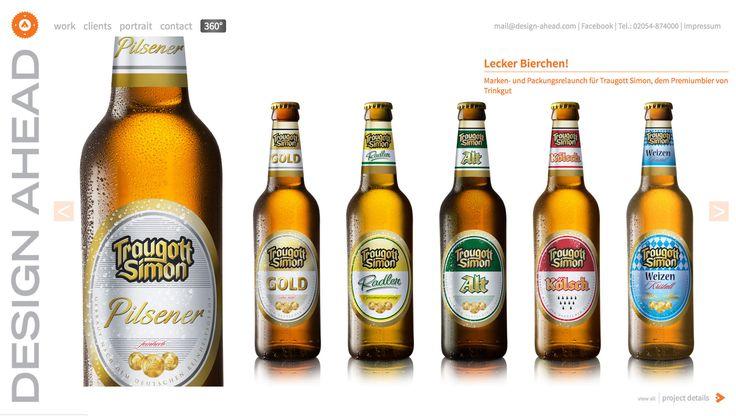 Packaging Design Traugott Simon Biersortiment