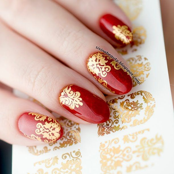 Nail decal sticker foil BPWSTYLE by BPWSTYLE on Etsy