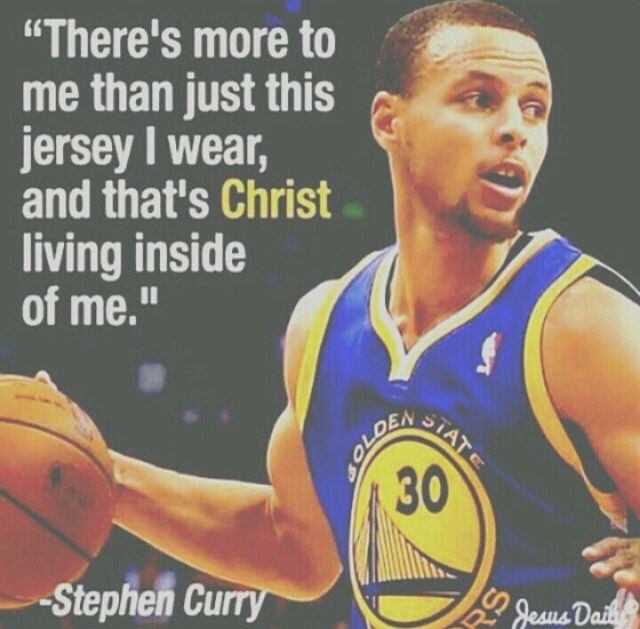 Steph Curry. Great player, great faith. http://www.dotcomglobalmedia.com/