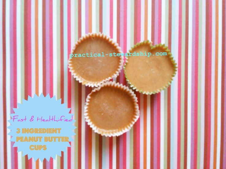 Fast & Healthified Peanut Butter Cups: Almonds Butter, Practicalstewardshipcom, Baking Chocolates, Chocolate Chips, Coconut Oil, Oil Peanut, Peanut Butter Cups, Dark Chocolates Chips, Chips Freeze