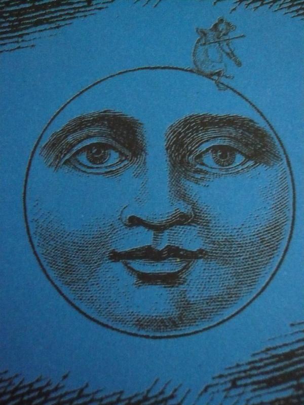 Vintage Moon Face 25+ best ideas about V...