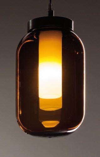 Contemporary glass pendant lamp FLUIDI: 32015 ZONCA #zonca #zoncalighting