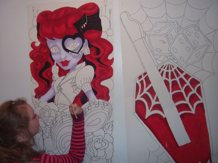 Monster High Wall Decor 40 best murals/ prices ~ monster high murals images on pinterest