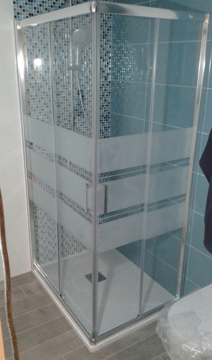 17 mejores ideas sobre puertas de ducha en pinterest - Cristales para banos ...