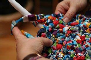 tapis ovale trapilho , tricotin.com                                                                                                                                                                                 Plus