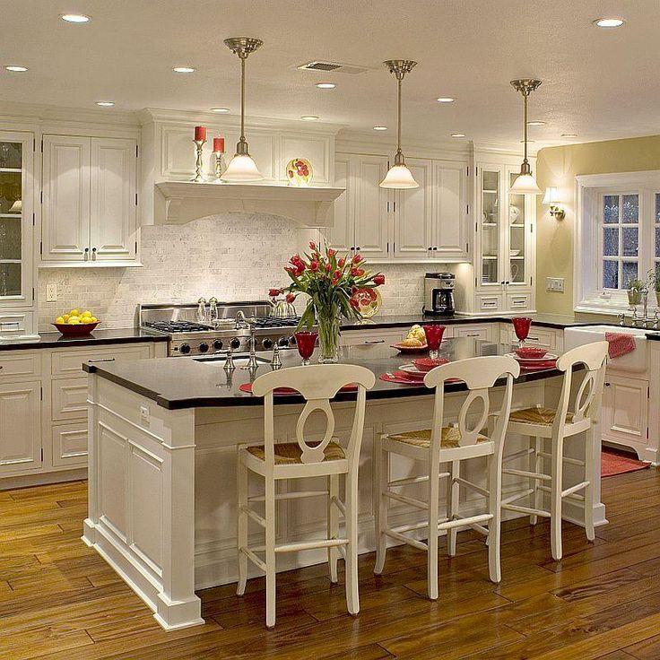 23 best kitchen designs images on pinterest decorating ideas kitchens and arquitetura on kitchen ideas white id=16218