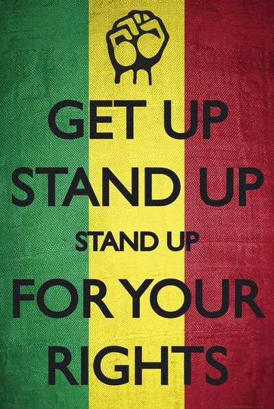 Stand up for your rights.....