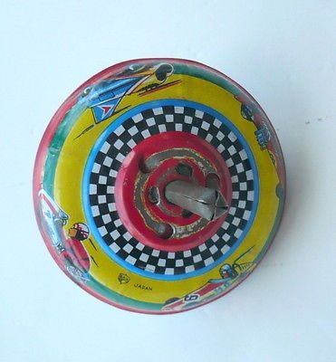 TIN-SPIN-TOP-TOY-RACE-CARS