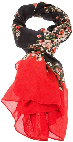 Floral Scarf by Dolce & Gabbana