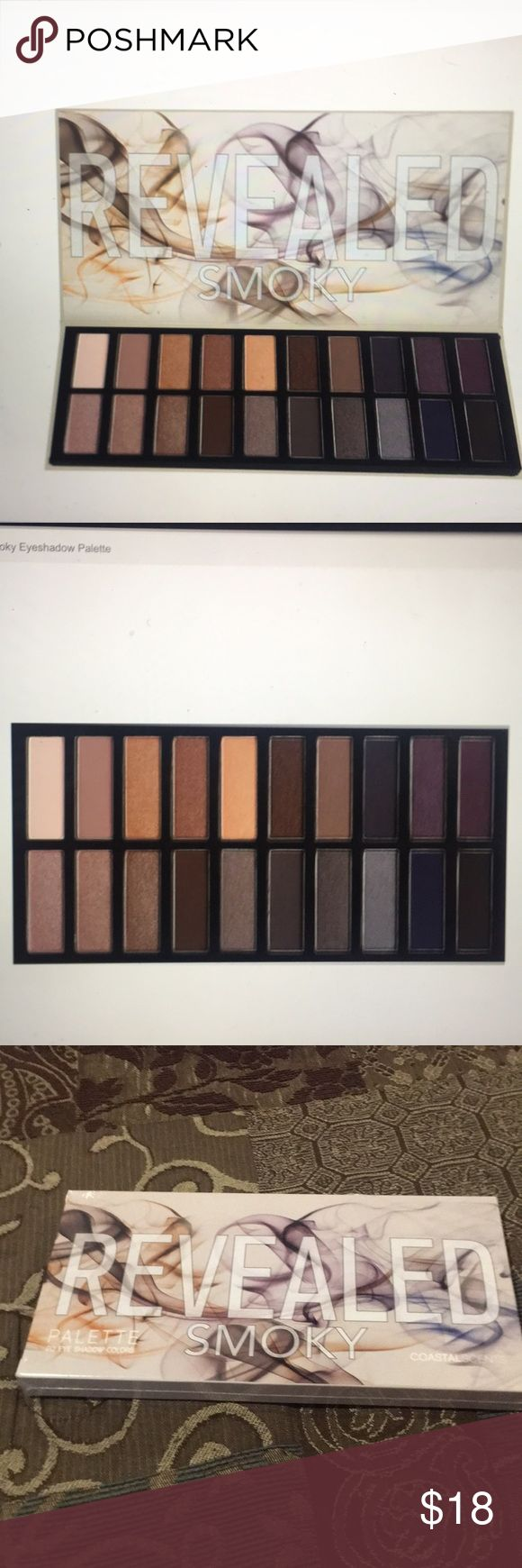 🆕Coastal Scents Revealed Smoky Eye Palette🆕 🆕Coastal Scents Revealed Smoky Eye Palette; 20 sultry, smoldering shadows in a variety of hues and textures🆕 NEW LISTING 1/24 Coastal Scents Makeup Eyeshadow