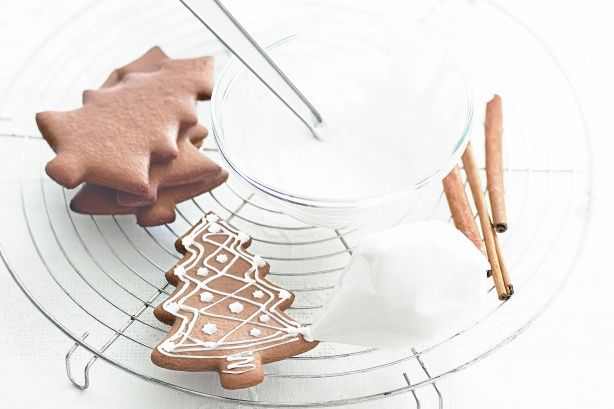 These gingerbread biscuits, or lebkuchen, are typical Christmas treats in Germany. Remember the story of Hansel and Gretel, the wicked witch and that tempting sweet-and-spicy gingerbread house? The German authors of that fairy tale, brothers Jacob and Wilhelm Grimm, started the fashion for gingerbread shapes decorated with icing in the early 1800s.