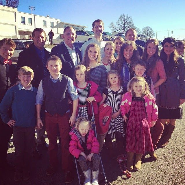 Duggars at Arkansas March for Life