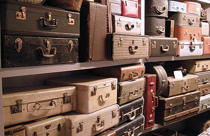 Suitcases upon suitcases