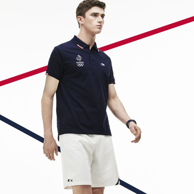 polo lacoste sport France olympique rio 2016