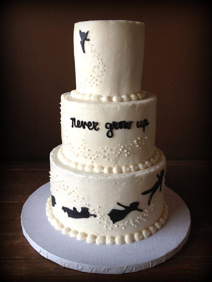 Quot Never Grow Up Quot Peter Pan Cake M E O Pinterest